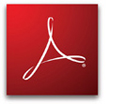 Icon zum Download des Acrobat Reader